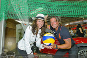Promi Beachvolleyball KickOff - MegaDenzel Erdberg - Mo 14.07.2014 - Vera RUSSWURM, Frenkie SCHINKELS27