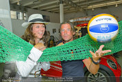 Promi Beachvolleyball KickOff - MegaDenzel Erdberg - Mo 14.07.2014 - Vera RUSSWURM, Frenkie SCHINKELS30