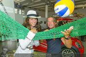 Promi Beachvolleyball KickOff - MegaDenzel Erdberg - Mo 14.07.2014 - Vera RUSSWURM, Frenkie SCHINKELS31