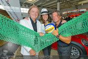 Promi Beachvolleyball KickOff - MegaDenzel Erdberg - Mo 14.07.2014 - Vera RUSSWURM, Frenkie SCHINKELS, Peter HOFBAUER32