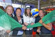 Promi Beachvolleyball KickOff - MegaDenzel Erdberg - Mo 14.07.2014 - Vera RUSSWURM, Frenkie SCHINKELS, K.FAIST, Hans ENN, P.HOFBAUER34