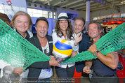 Promi Beachvolleyball KickOff - MegaDenzel Erdberg - Mo 14.07.2014 - Vera RUSSWURM, Frenkie SCHINKELS, K.FAIST, Hans ENN, P.HOFBAUER35
