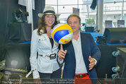 Promi Beachvolleyball KickOff - MegaDenzel Erdberg - Mo 14.07.2014 - Vera RUSSWURM, Kurt FAIST4