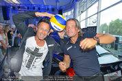Promi Beachvolleyball KickOff - MegaDenzel Erdberg - Mo 14.07.2014 - Frenkie SCHINKELS, Hans ENN48