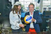 Promi Beachvolleyball KickOff - MegaDenzel Erdberg - Mo 14.07.2014 - Vera RUSSWURM, Kurt FAIST5