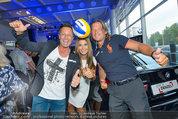 Promi Beachvolleyball KickOff - MegaDenzel Erdberg - Mo 14.07.2014 - Frenkie SCHINKELS, Hans ENN, Carmen STAMBOLI50