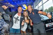 Promi Beachvolleyball KickOff - MegaDenzel Erdberg - Mo 14.07.2014 - Frenkie SCHINKELS, Hans ENN, Carmen STAMBOLI51