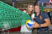 Promi Beachvolleyball KickOff - MegaDenzel Erdberg - Mo 14.07.2014 - Frenkie SCHINKELS, Carmen STAMBOLI52