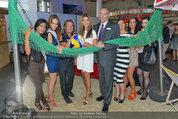Promi Beachvolleyball KickOff - MegaDenzel Erdberg - Mo 14.07.2014 - Frenkie SCHINKELS, Carmen STAMBOLI, G�nter KALINA, Models, Miss53