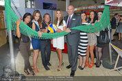 Promi Beachvolleyball KickOff - MegaDenzel Erdberg - Mo 14.07.2014 - Frenkie SCHINKELS, Carmen STAMBOLI, G�nter KALINA, Models, Miss54