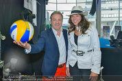 Promi Beachvolleyball KickOff - MegaDenzel Erdberg - Mo 14.07.2014 - Vera RUSSWURM, Kurt FAIST6