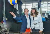 Promi Beachvolleyball KickOff - MegaDenzel Erdberg - Mo 14.07.2014 - Vera RUSSWURM, Kurt FAIST7