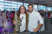 Promi Beachvolleyball KickOff - MegaDenzel Erdberg - Mo 14.07.2014 - Andrew YOUNG, Andreas TISCHLER83