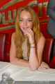 Lindsey Lohan PK und Autogrammstunde - PlusCity Linz - Sa 26.07.2014 - Lindsey LOHAN32