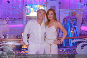 Weisses Fest - PlusCity Linz - Sa 26.07.2014 - Lindsey LOHAN, Ernst KIRCHMAYR103