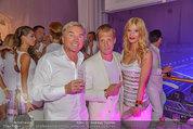 Weisses Fest - PlusCity Linz - Sa 26.07.2014 - Ernst KIRCHMAYR mit Ehefrau, Oliver POCHER129