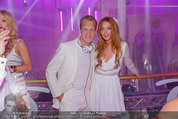 Weisses Fest - PlusCity Linz - Sa 26.07.2014 - Oliver POCHER, Lindsey LOHAN2