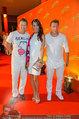 Weisses Fest - PlusCity Linz - Sa 26.07.2014 - Bruno EYRON mit Ehefrau, Mark KELLER64