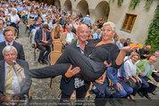 Wachaufestspiele Premiere - Teisenhoferhof Weissenkirchen - Mi 30.07.2014 - Jazz GITTI nach Di�t, Gery LUX1