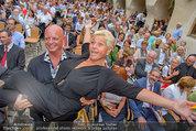 Wachaufestspiele Premiere - Teisenhoferhof Weissenkirchen - Mi 30.07.2014 - Jazz GITTI nach Di�t, Gery LUX30