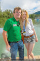 Beachvolleyball VIPs - Centrecourt Klagenfurt - Fr 01.08.2014 - Larissa MAROLT, Hannes JAGERHOFER2
