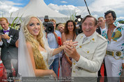 Lugner Verlobung - Casino Velden - Fr 01.08.2014 - Richard LUGNER, Spatzi Cathy SCHMITZ100
