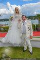 Lugner Verlobung - Casino Velden - Fr 01.08.2014 - Richard LUGNER, Spatzi Cathy SCHMITZ110