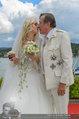Lugner Verlobung - Casino Velden - Fr 01.08.2014 - Spatzi Cathy SCHMITZ, Richard LUGNER (Kussfoto)117