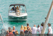 Lugner Verlobung - Casino Velden - Fr 01.08.2014 - Ankunft Spatzi Cathy SCHMITZ29