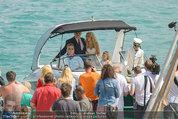 Lugner Verlobung - Casino Velden - Fr 01.08.2014 - Ankunft Spatzi Cathy SCHMITZ30