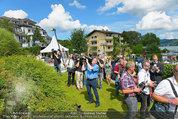 Lugner Verlobung - Casino Velden - Fr 01.08.2014 - Medienrummel36