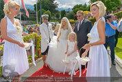 Lugner Verlobung - Casino Velden - Fr 01.08.2014 - Spatzi Cathy SCHMITZ mit Brautvater41
