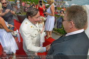 Lugner Verlobung - Casino Velden - Fr 01.08.2014 - Richard LUGNER mit Brautvater45