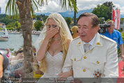 Lugner Verlobung - Casino Velden - Fr 01.08.2014 - Richard LUGNER, Spatzi Cathy SCHMITZ46
