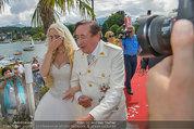 Lugner Verlobung - Casino Velden - Fr 01.08.2014 - Richard LUGNER, Spatzi Cathy SCHMITZ47