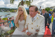 Lugner Verlobung - Casino Velden - Fr 01.08.2014 - Richard LUGNER, Spatzi Cathy SCHMITZ48