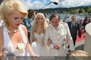 Lugner Verlobung - Casino Velden - Fr 01.08.2014 - Richard LUGNER, Spatzi Cathy SCHMITZ50