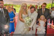 Lugner Verlobung - Casino Velden - Fr 01.08.2014 - Richard LUGNER, Spatzi Cathy SCHMITZ mit Tochter Leonie56