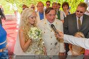 Lugner Verlobung - Casino Velden - Fr 01.08.2014 - Richard LUGNER, Spatzi Cathy SCHMITZ58