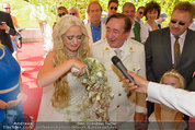 Lugner Verlobung - Casino Velden - Fr 01.08.2014 - Richard LUGNER, Spatzi Cathy SCHMITZ59