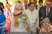 Lugner Verlobung - Casino Velden - Fr 01.08.2014 - Richard LUGNER, Spatzi Cathy SCHMITZ60