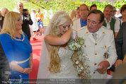 Lugner Verlobung - Casino Velden - Fr 01.08.2014 - Richard LUGNER, Spatzi Cathy SCHMITZ62