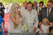 Lugner Verlobung - Casino Velden - Fr 01.08.2014 - Richard LUGNER, Spatzi Cathy SCHMITZ mit Tochter Leonie63