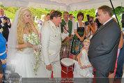 Lugner Verlobung - Casino Velden - Fr 01.08.2014 - Richard LUGNER, Spatzi Cathy SCHMITZ mit Tochter Leonie69