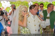 Lugner Verlobung - Casino Velden - Fr 01.08.2014 - Richard LUGNER, Spatzi Cathy SCHMITZ71