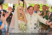 Lugner Verlobung - Casino Velden - Fr 01.08.2014 - Richard LUGNER, Spatzi Cathy SCHMITZ72