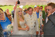 Lugner Verlobung - Casino Velden - Fr 01.08.2014 - Richard LUGNER, Spatzi Cathy SCHMITZ73