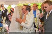Lugner Verlobung - Casino Velden - Fr 01.08.2014 - Spatzi Cathy SCHMITZ, Richard LUGNER (Kussfoto)75