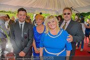 Lugner Verlobung - Casino Velden - Fr 01.08.2014 - Familie der Braut Cathy Schmitz (Mutter, Vater, Bruder, Schweste77