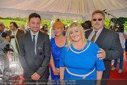 Lugner Verlobung - Casino Velden - Fr 01.08.2014 - Familie der Braut Cathy Schmitz (Mutter, Vater, Bruder, Schweste78